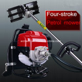 Lawn Mower Four Stroke Backpack Gasoline Engine Weeding Machine Mini Scarifier Machine