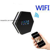 Newest Colourful 1080P WiFi Camera Clock with Video Duration Over 4 Hours WiFi Clock Camera