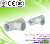 PVC Cable Pipe Fitting Conduit Connector Tee Accessory