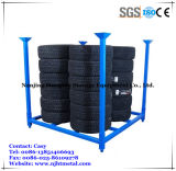 Warehouse Storage Heavy Duty Steel Stacking Tire Racking