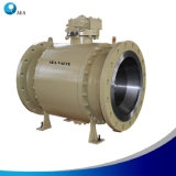 Factory O. E. M API 6D Forged Steel Trunnion Ball Valve with Good Price