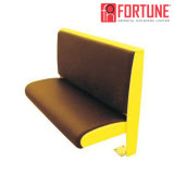 Full Package Solution Dining Booth Sofa for Restaurant with Wood Frame (FOH-XM28-468)
