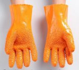 Factory Sales Hot Sell PVC Dots Rubber Construction Gloves Safety Glove Industry Safety Gloves