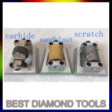 Italy Lupato Similar Diamond Metal Frankfurt Grinding Bush Hammer Tool