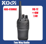 UHF 400-470MHz Chinese Walkie Talkie for Communication