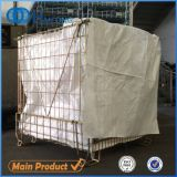 Foldable Wire Mesh Container Used for Storage