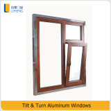Tilt & Turn Metal Glass Windows for Building Material