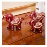 Elephant Statues Set, 3 Little Elephant, Resin, Cute Animal, Christmas/Wedding Gift, Office/Home/Hotel Decor, Arts, Craftsgya1008