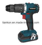 China Power Tools Factory 18V Brushless Motor Lion Cordless Drill with Hammer Function