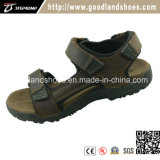 New Design Summer Beach Breathable Leather Men′s Sandal Shoes 20025