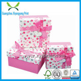 Custom Printed Gift Box Packaging with Logo Print