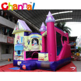Princess Inflatable Jumping Bouncer Castle with Slide