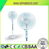 Top Hot Seller 16 Inch Stand Fan with Light and X Cross Base SAA
