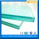 Opaque Tempered Laminated Glass with Beveled Edge