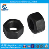 Stainless Steel Ss304 Ss316 ASTM A194 B8 B8m Heavy Hex Nut/4.8 Grade 8 Grade /Black Zinc Plated DIN934 A194 2h Hex Nut in Stock