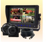 RV Backup Camera System with IP69k Waterproof Wired Backup Cameras