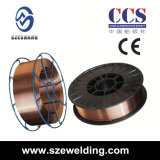 Aws A5.18 Er70s-6 MIG CO2 Gas-Shielded Welding Wires, Solid Wire, Welding Wire, Welding Filler