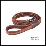 Pet Dog Products High Quality Real Leather Pet Dog Leash Leads