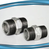 NPT Malleable Iron Pipe Fittings Sch40 Pipe Nipple