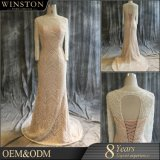 Wholesale Fashion Design Muslim Long Trail Wedding Dress