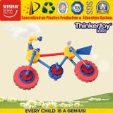 Educational Building Block Bicycle Toy for 3+ Children