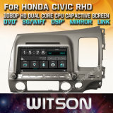 Witson Windows Radio Stereo DVD Player for Honda Civic Rhd