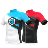 Custom Moisture-Wicking Cycling Jerseys Breathable Bicycle Wear Quick Dry Bike Clothing