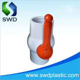 Plastic PVC Compact Ball Valves Top Quality Factory White Gray
