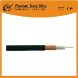 China Factory Direct 75 Ohm RG6 Coaxial Cable with Low Loss for CATV Satellite TV