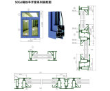 Aluminum Doors and Windows 50gj Thermal Break Casement Series