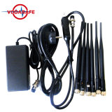 6 Antenna All in One for All Cellular, GPS, WiFi, Lojack, Walky Talky, VHF, UHF Jammer Blocker