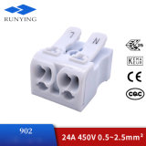 Fast Press Type White Wire Terminal Connector Wholesale Customized Factory Price Insulated Quick-Connecting Terminal Block