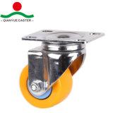 PU Wheel Chrome Light Duty Caster