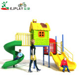 Small Size Children Plastic Playground Slide Amusement Park Outdoor Playground