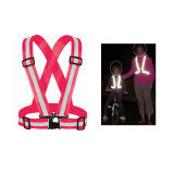 Road Running Riding High Visibility Reflective Safety Belt Vest