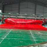 Red Tarpaulin Cover, PE Tarpaulin Sheet