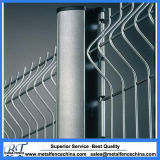 PVC Coated 3D Curvy Welded Wire Mesh Fencing