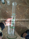 Green Pyrex Thick Glass Water Pipe with/ Dome Perc 8′′