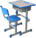 Durable High Quality School Desk and Chair with Low Price