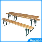 Fsc Certified Wooden Beer Table