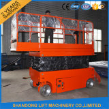 Self Propelled Adjustable Scissor Lift with Extended Platform