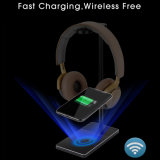 Wireless Charger with Headset Stand Holder