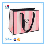 Art Paper Shopping Bag for Packaging Gift with Custom Cope