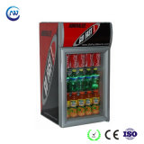 ETL/RoHS/Ce Approved Commercial Glass Door Kitchen Hotel Counter Table Top Minibar Beer Beverage Soft Drink Fridge Refrigerator (JGA-SC42)
