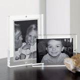Customized Size Special Design Acrylic Picture Frame Display Stand