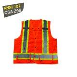 Roadway Safety Security Guard Pocket Vest