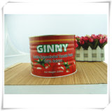 2200g+70g Organic Ginny Brand Canned Tomato Paste