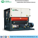 China Qingdao Heavy Duty Plywood Calibrating Wide Belt Sanding Machine Woodworking Machinery