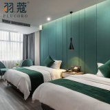 New 2020 Hotel Products 100% Cotton White Color Bedding Set for Home Hotel