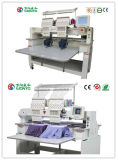 Wonyo 2 Heads 9/12 Colors Computerized Embroidery Machine for Cap/T-Shirt/Flat Embroidery Price in China